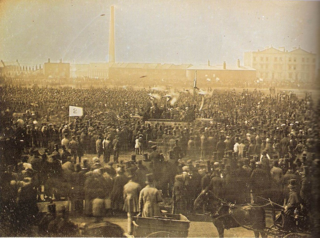 The Chartist Meeting - 1848. The largest gathering of its time.