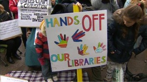 library hands off
