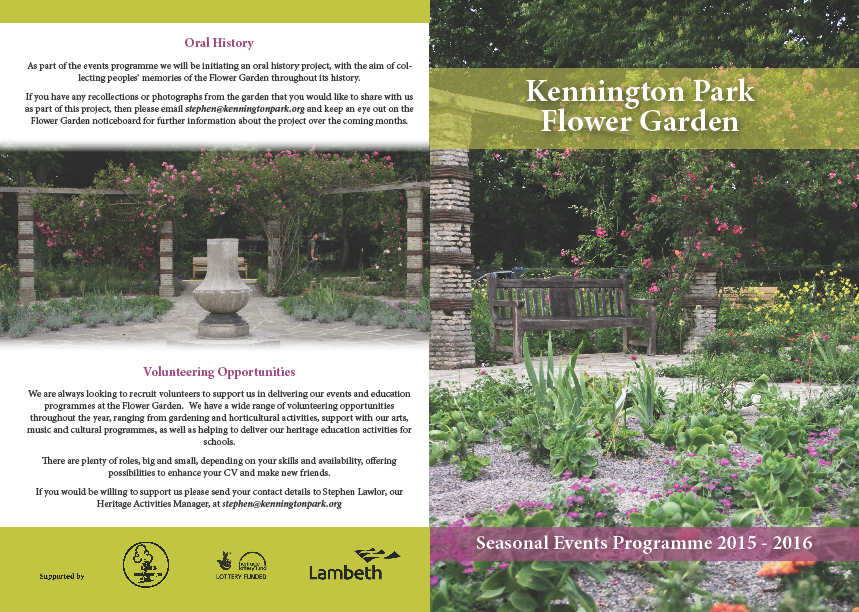 flower garden programme